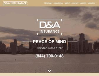 dopazoinsurance.com screenshot