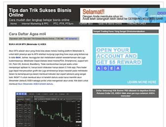 bisnisonlinetop1.blogspot.com screenshot