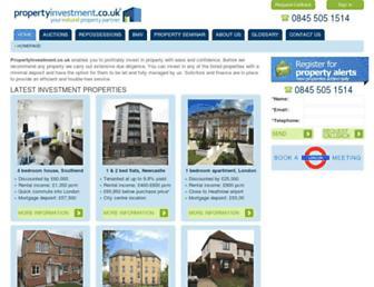 propertyinvestment.co.uk screenshot