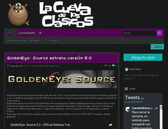 cuevadeclasicos.org screenshot