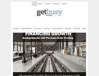 Thumbshot of Getbusymedia.com