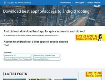 bestandroidtoroot.com screenshot