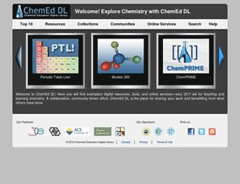 Screenshot for chemeddl.org
