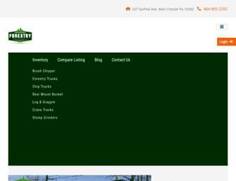 tristateforestryequipment.com screenshot
