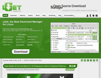 ugetdm.com screenshot