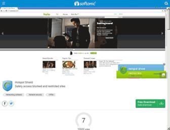 hotspot-shield.m.en.softonic.com screenshot