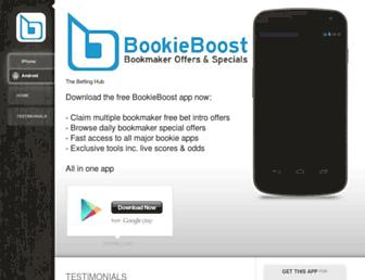 bookieboost.com screenshot