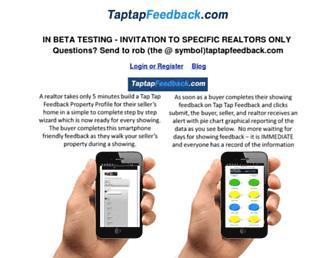 Thumbshot of Taptapfeedback.com