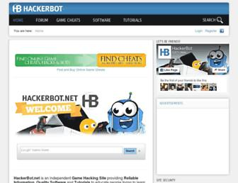 hackerbot.net screenshot