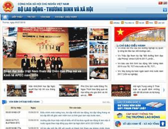molisa.gov.vn screenshot