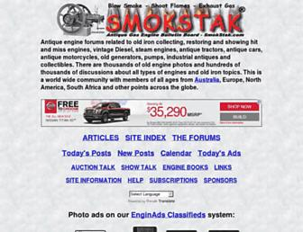 smokstak.com screenshot