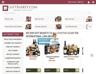 Thumbshot of Giftbasket.com