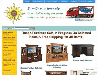 sancarlosimports.com screenshot