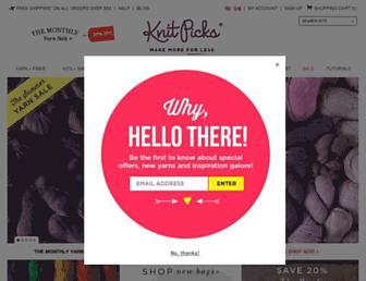Thumbshot of Knitpicks.com