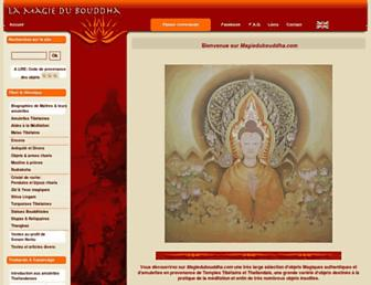 magiedubouddha.com screenshot