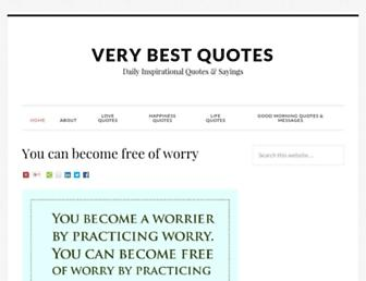 Thumbshot of Verybestquotes.com
