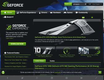 Thumbshot of Geforce.co.uk