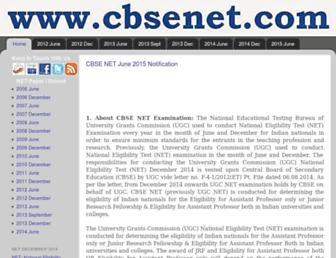 Thumbshot of Cbsenet.com