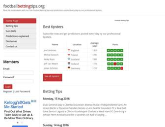 footballbettingtips.org screenshot