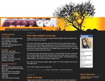 heningminggu.blogspot.com screenshot