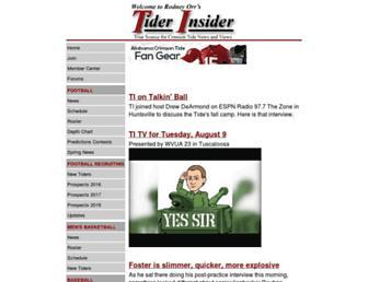 Thumbshot of Tiderinsider.com