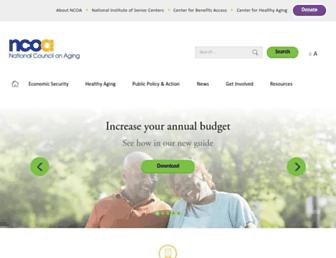 ncoa.org screenshot