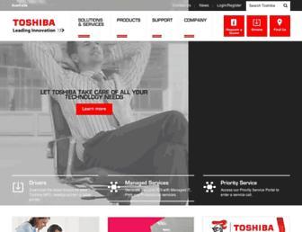 toshiba-business.com.au screenshot