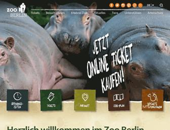 zoo-berlin.de screenshot