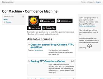 conmachine.com screenshot