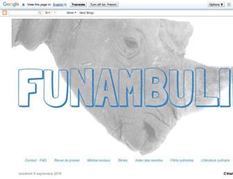 funambuline.blogspot.com screenshot