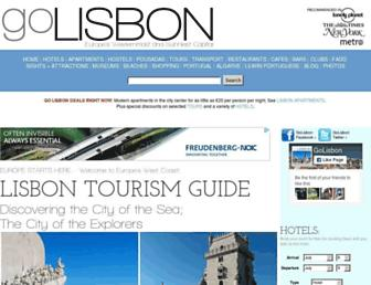 Thumbshot of Golisbon.com