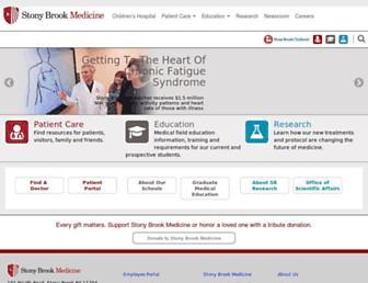 Thumbshot of Stonybrookmedicine.edu