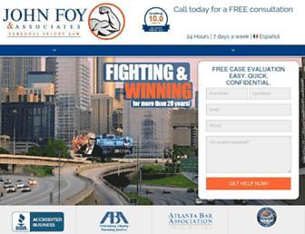 johnfoy.com screenshot