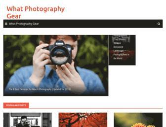 whatphotographygear.com screenshot