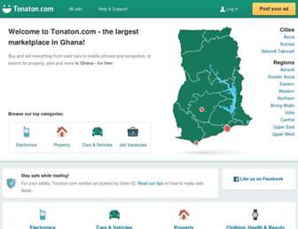 tonaton.com screenshot
