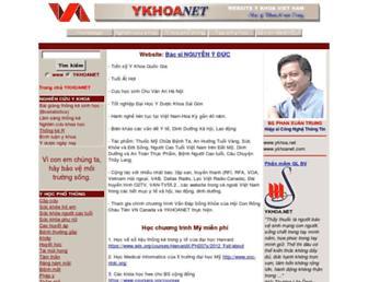 ykhoa.net screenshot