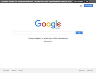 books.google.pl screenshot
