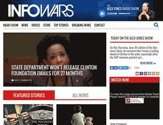 Thumbshot of Infowars.com