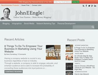 johneengle.com screenshot