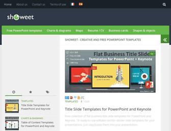 showeet.com screenshot