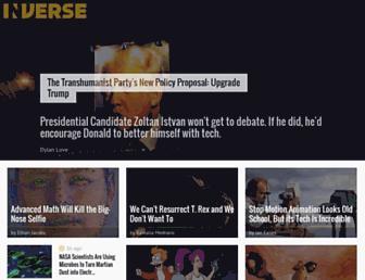 inverse.com screenshot