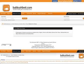 Thumbshot of Baliksohbeti.com