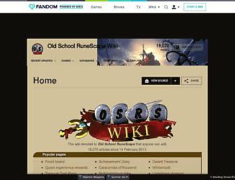 oldschoolrunescape.wikia.com screenshot