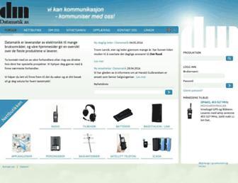 datamatik.no screenshot