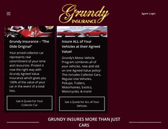 grundy.com screenshot