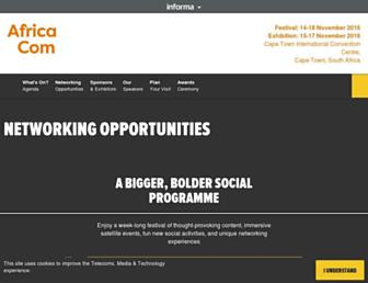 Thumbshot of Africacomawards.com