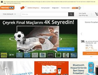 teknosa.com screenshot