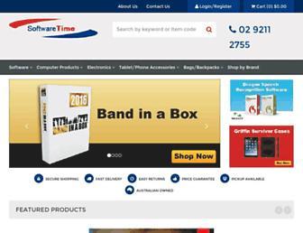 softwaretime.com.au screenshot