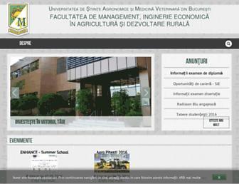 managusamv.ro screenshot