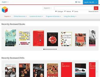 vpl.bibliocommons.com screenshot